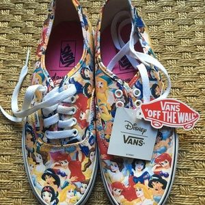 Vans Disney Princess Tennis Shoes